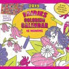 2019 Kid's Activity Wall Calendar - 16-Months (Fairies)