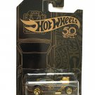 Hot Wheels 2018 50th Anniversary Black & Gold Series 1/64 (Rodger Dodger 3/6 )