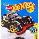 Hot Wheels 2017 HW Speed Graphics Volkswagen Kafer Racer 156/365, Black