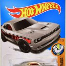 Hot Wheels 2017 Muscle Mania '15 Dodge Challenger 48/365, Silver