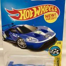 Hot Wheels 2017 HW Speed Graphics 2016 Ford GT Race 166/365, Blue