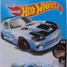 Hot Wheels 2017 Night Burnerz Dodge Viper SRT10 ACR 47/365, Light Blue