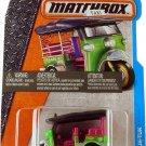 Matchbox 2017 MBX City Tuk-Tuk Thailand Taxi 6/125, Green