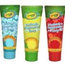 Crayola Bathtub Fingerpaint soap 5 piece bundle (Colors may vary)