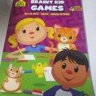 School Zone Brainy Kid Games Got-to-Dots, Mazes, Hidden Pictures