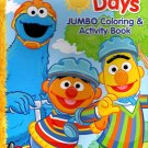 Sesame Street Jumbo Coloring and Activity Books - Sunny Days - v2