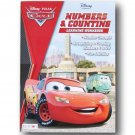 Disney Pixar Cars Numbers and Counting Learning Workbook for Ages 3+