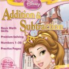 Disney Princess Addition & Subtraction Workbook