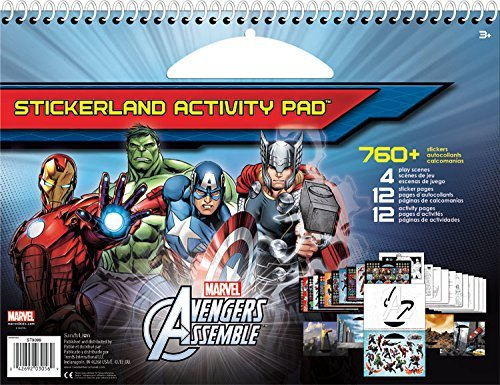 Trends International Avengers Giant Stickerland Pad