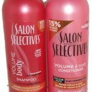 Salon Selectives Volume & Body Shampoo & Conditioner Set For Bouncy Full Hair