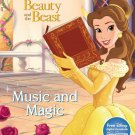Music Magic: Over 50 Stickers! (Disney Princess: Beauty The Beast)