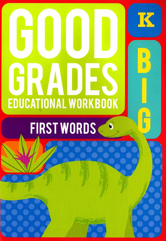 Good Grades Kindergarten Educational Workbooks First Words