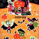 Stickers Monster Party Book - 294 Halloween Themed