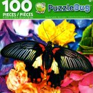 Beautiful Butterfly - PuzzleBug - 100 Piece Jigsaw Puzzle