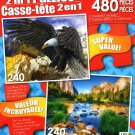 LPF Eagle Rock - Yosemite National Park - Total 480 Piece 2 in 1 Jigsaw Puzzles
