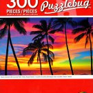 Cra-Z-Art Scenic Sunset with Coconut Palm Trees, Kauai Hawaii - PuzzleBug - 300 Jigsaw Puzzles