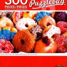 Assorted Colorful Donuts in Box - PuzzleBug - 300 Pieces Jigsaw Puzzle
