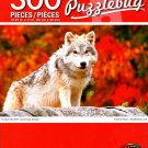 Young Arctic Wolf - PuzzleBug - 300 Pieces Jigsaw Puzzle