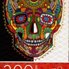 Cardinal Industries Day of The Dead Skull - 300 Piece Jigsaw Puzzle - p007