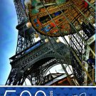 Cardinal Industries Eiffel Tower and Carousel - 500 Piece Jigsaw Puzzle - p007