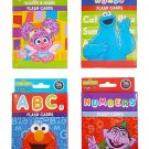 Sesame Street Educational Flash Cards for Early Learning. Set