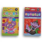 Sesame Street Flash Cards - Colors & Shapes + Numbers - 72 Count