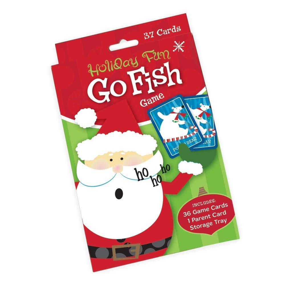 Holiday Fun Go Fish Card Game Ho Ho Ho