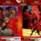Disney Pixar Incredibles 2 - 16 Pieces Jigsaw Puzzle - (Set of 2 Puzzles)