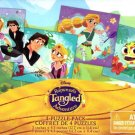 Disney Rapunzel's Adventure Tangeled - 12 Piece Jigsaw Puzzle (Set of 4 Different Puzzles) - v1