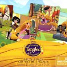 Disney Rapunzel's Adventure Tangeled - 12 Piece Jigsaw Puzzle (Set of 4 Different Puzzles) - v2