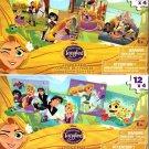 Rapunzel's Adventure Tangeled - 12 Piece Jigsaw Puzzle - (Bundle of 2-4 Puzzle Packs)