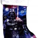 "Disney Star Wars - 18"" Full Printed Satin Christmas Stocking with Plush Cuff - v3"