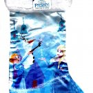 "Disney Frozen - 18"" Full Printed Satin Christmas Stocking with Plush Cuff"