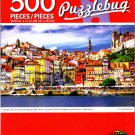 Cra-Z-Art Portugal Old Town Overlooking The Douro River - 500 Piece Jigsaw Puzzle