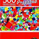 Cra-Z-Art Colourful Buttons and Thread - 500 Piece Jigsaw Puzzle