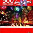 Cra-Z-Art Fireworks Over Chicago Skyscrapers - 500 Piece Jigsaw Puzzle