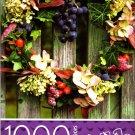 Cardinal Industries Beautiful Wreath - 1000 Piece Jigsaw Puzzle -p007