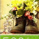 Cardinal Industries Flowers in Boots - 500 Piece Jigsaw Puzzle - p007