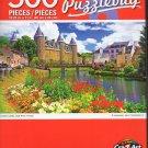 Cra-Z-Art Josselin Castle, Oust River, France - 500 Piece Jigsaw Puzzle