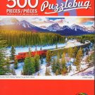 Cra-Z-Art Candian Pacific Railway Passing Through Banff, Alberta - 500 Piece Jigsaw Puzzle