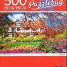 Cra-Z-Art Lovely Spring Cottage - 500 Piece Jigsaw Puzzle