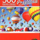 Cra-Z-Art Hot Air Ballons Flooting in Blue Sky - 500 Piece Jigsaw Puzzle