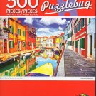 Cra-Z-Art Colorful Canal, Burano, Venice, Italy - 500 Piece Jigsaw Puzzle