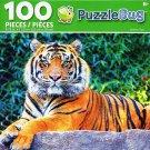 Majestic Tiger - PuzzleBug - 100 Piece Jigsaw Puzzle