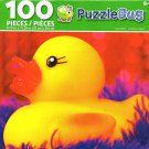Luxe Duck - PuzzleBug - 100 Piece Jigsaw Puzzle