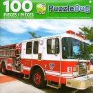 Fire Engine - PuzzleBug - 100 Piece Jigsaw Puzzle