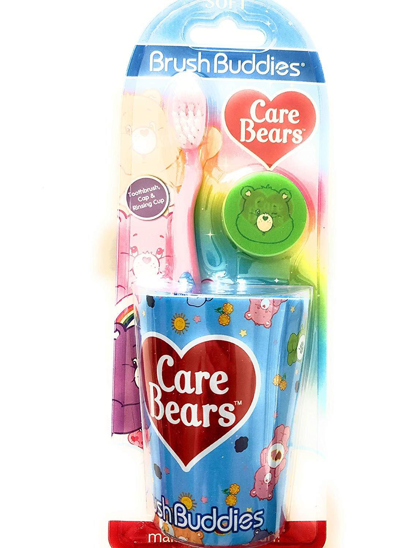 Care Bear Toothbrush Set - 3 Pieces!