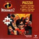 Disney Pixar Incredibles 2-24 Pieces Jigsaw Puzzle - v5