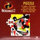 Disney Pixar Incredibles 2-24 Pieces Jigsaw Puzzle - v9