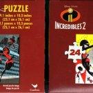 Disney Pixar Incredibles 2-24 Pieces Jigsaw Puzzle - (Set of 2) - v1